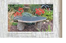 Boulder Outdoor Furniture by Granite Bench Stone Bench Garden Bench Stone Benches