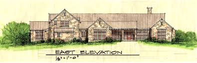 sherman texas ranch home stephen b chambers architects inc