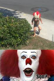 Funny Clown Meme - pennywise the clown memes best collection of funny pennywise the