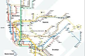 Mta New York Map by Mta Unveils Map That Sums Up Your Weekend Hassles Curbed Ny