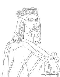 good king dagobert of frnace coloring pages hellokids com