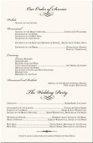 Wedding Programs Samples Wedding Programs Wedding Program Wording Program Samples Program