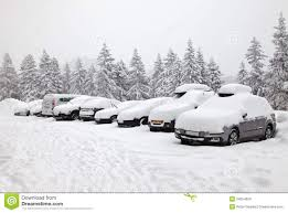 winter parking stock images image 34554904