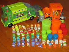lego ville duplo 4978 street sweeper road cleaner truck shovel