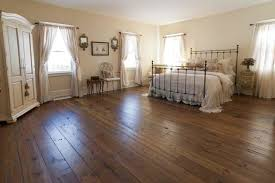 antique resawn oak hardwood flooring traditional bedroom