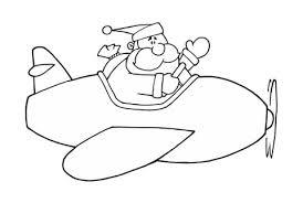 airplane coloring page printable santa in airplane coloring page free printable coloring pages
