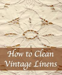 How To Wash Lace Curtains How To Clean Yellowed Vintage Linens Home Ec 101