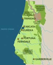 california map national parks travel info for the redwood forests of california eureka and