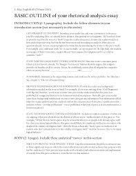 Essay Rhetorical Essay Sample Rhetorical Analysis Essay Example rhetorical analysis essay advertisement Resume Template Essay Sample