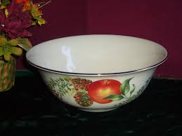 lenox winter garden round vegetable serving bowl new in box usa