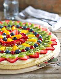 fruit pizza recipe pinch of yum