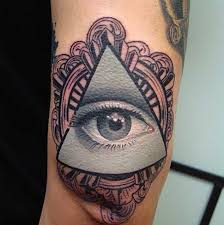 awesome eye of providence tattoos on