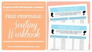 free printable wedding planner workbook wedding seeker