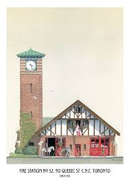 Firehouse Floor Plans by Fire Station Art Hall 32 Quebec St Cne Toronto Fire Hall