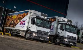 mercedes truck dealers uk mercedes dealer commercial serves up another recipe