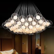 Hanging Light Bulb Pendant Discount Indoor Lamp Bulb Free Double Round Glass Balls Hanging