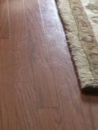 engineered wood floor looks cloudy