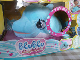 blu blu the baby dolphin talking interactive plush toy review imc