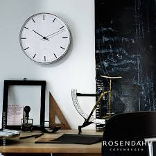 arne jacobsen city hall wall clock rosendahl metropolitandecor