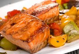 cuisiner pavé de saumon au four filets de saumon grillés au piment chili aux poivrons et aux