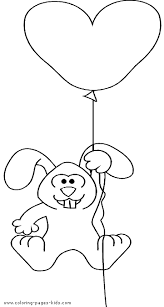 bunny hanging balloon color