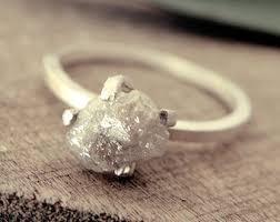 etsy diamond rings images Raw diamond ring etsy jpg