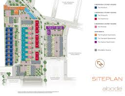 abode trumpington cambridge countryside properties cambridgeshire great kneighton abode site plan