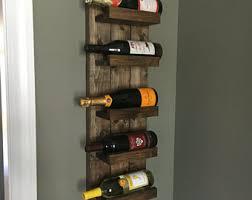 Spice Rack Holder Rustic Wine Rack Etsy