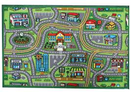 Green Kids Rug Amazon Com J U0026 M Home Fashions Kids Play Rug Educational Rug