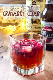 holiday cocktails png easy spiced cranberry cider cocktail recipe