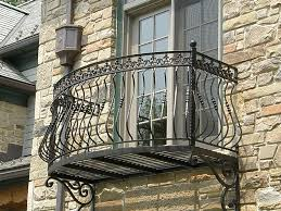 Rod Iron Home Decor Wrought Iron Deck Railing And Decor To Give Your 2017 Images