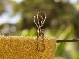 kitchen tea gift ideas 63 weaker grade 201 stainless steel wire pegs in a hemp bag