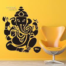aliexpress com buy wall decal ganesh buddhism india indian