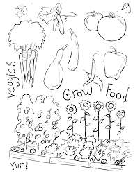 garden coloring pages fablesfromthefriends com
