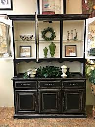 sold black shabby chic hutch before u0026 after u2014 finders keepers