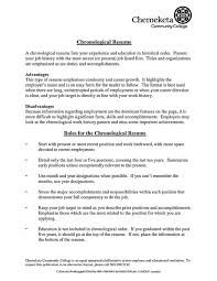 Samples Of Achievements On Resumes by Examples Of Chronological Resumes Sample Chronological Resume