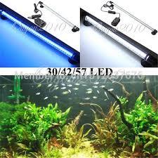 30 led aquarium light 2018 aquarium fish tank accessories 30 led light blue white 28cm bar