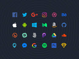 70 flat social icons for sketch updated by alexis doreau