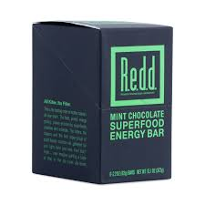 mint chocolate superfood energy bars by redd thrive market