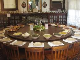 huge dining room table best 25 large round dining table ideas on pinterest round stylish