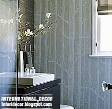 Modern Wallpaper For Bathrooms Interior Design 2014 Modern Wallpaper For Bathrooms 2014 10
