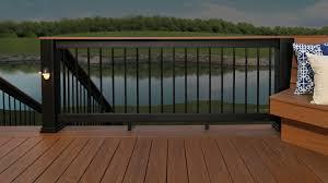 evolutions rail builder composite deck railing timbertech