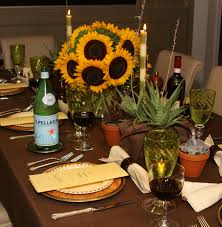 themed tablescapes italian table decor designer charles dunlap uses casual