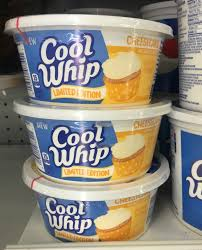 find new cheesecake flavored cool whip at publix make some