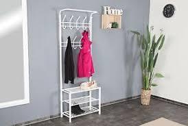 garderobe modern design garderobe weiß metall schuschrank ablage wandgarderobe modern