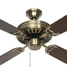 Brass Ceiling Fans With Lights by Hunter Pacific Majestic Coolah Ceiling Fan 52
