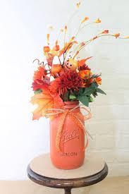 Mason Jar Flower Arrangement Mocha Espresso Pint Mason Jar Floral Planter Box Centerpiece