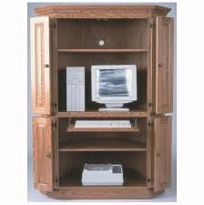 Corner Computer Armoire Corner Computer Armoire Home Wood Furniture