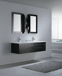 contemporary bathroom furniture cabinets with double sink vanity