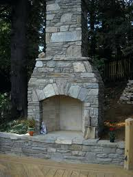 pre made outdoor fireplace this outdoor fireplace in makes this deck feel more like an outdoor
